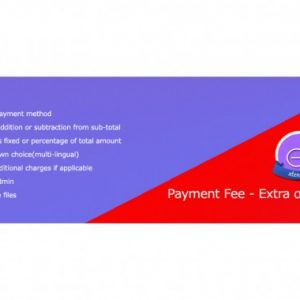 Payment Method Fee - Extra or Discount
